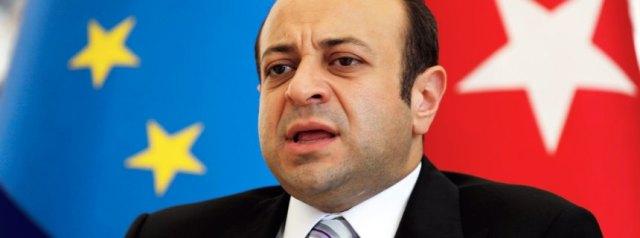 Turkey's EU Affairs Minister Egemen Bagis