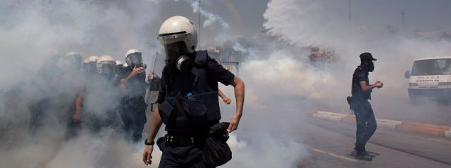 BESTPIX  Turkish Police Attempt To Clear Taksim Square Of Protestors