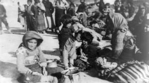 Armenische Flüchtlinge in Syrien 1915