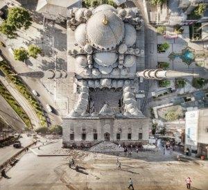 Die Neue Moschee.